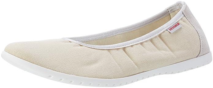 Drees, Womens Ballet Flats, Black (022/Schwarz), 6 UK (39 EU) Giesswein