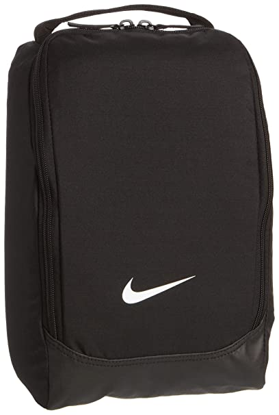 8ec777b6665f Image Unavailable. Image not available for. Color  Nike Soccer Shoebag -  Black