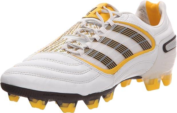 chaussure de football homme adidas blanc