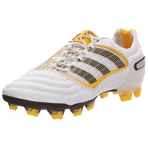 Pur Uomo Amazon Calcio Foncéjaune Borse Fg X 41 it Omb Prédatorbrun E Bianco Predator Scarpe Da blanc Adidas q70U6