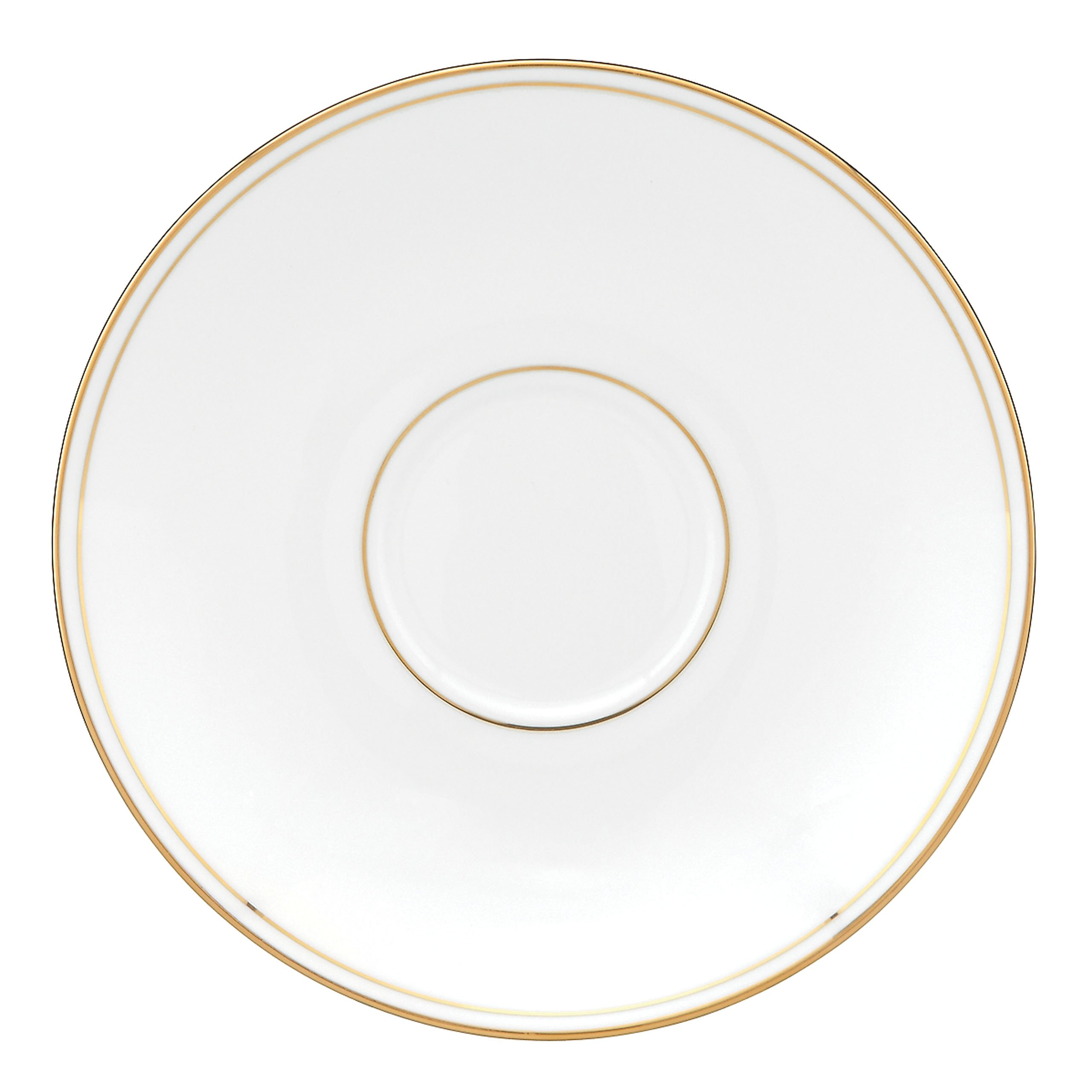 Lenox Federal Gold Bone China Saucer