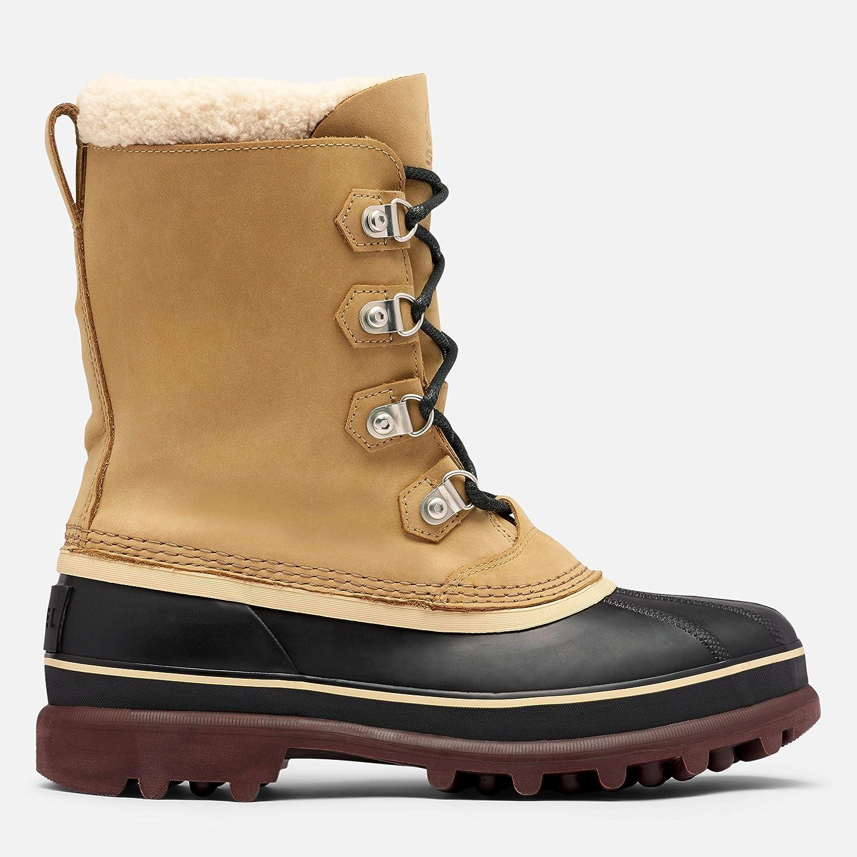 Harsh Weather Waterproof Buff Sorel Mens Caribou Stack WP Boot