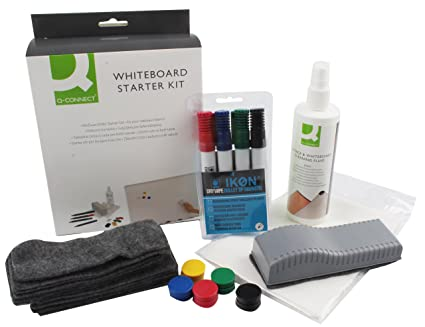 Amazon.com : Q Connect Whiteboard Starter Kit : Office Products