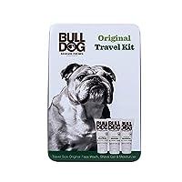 Bulldog Mens Skincare & Grooming Original Mini Travel Tin Set Including: 1 Oz Facial...