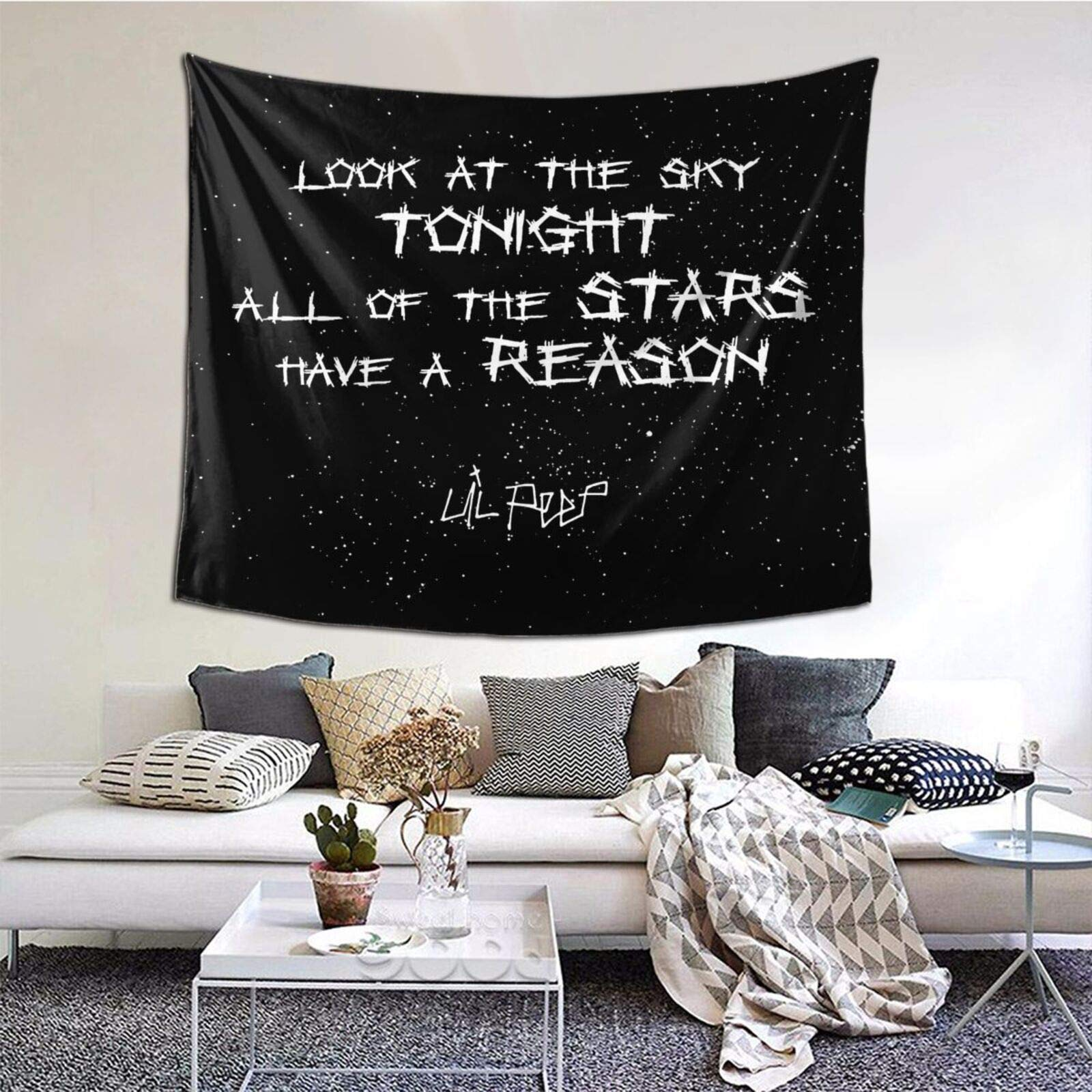 Wall Tapestry Art Photo Wall Hanging Mural for Bedroom Living Room Dorm