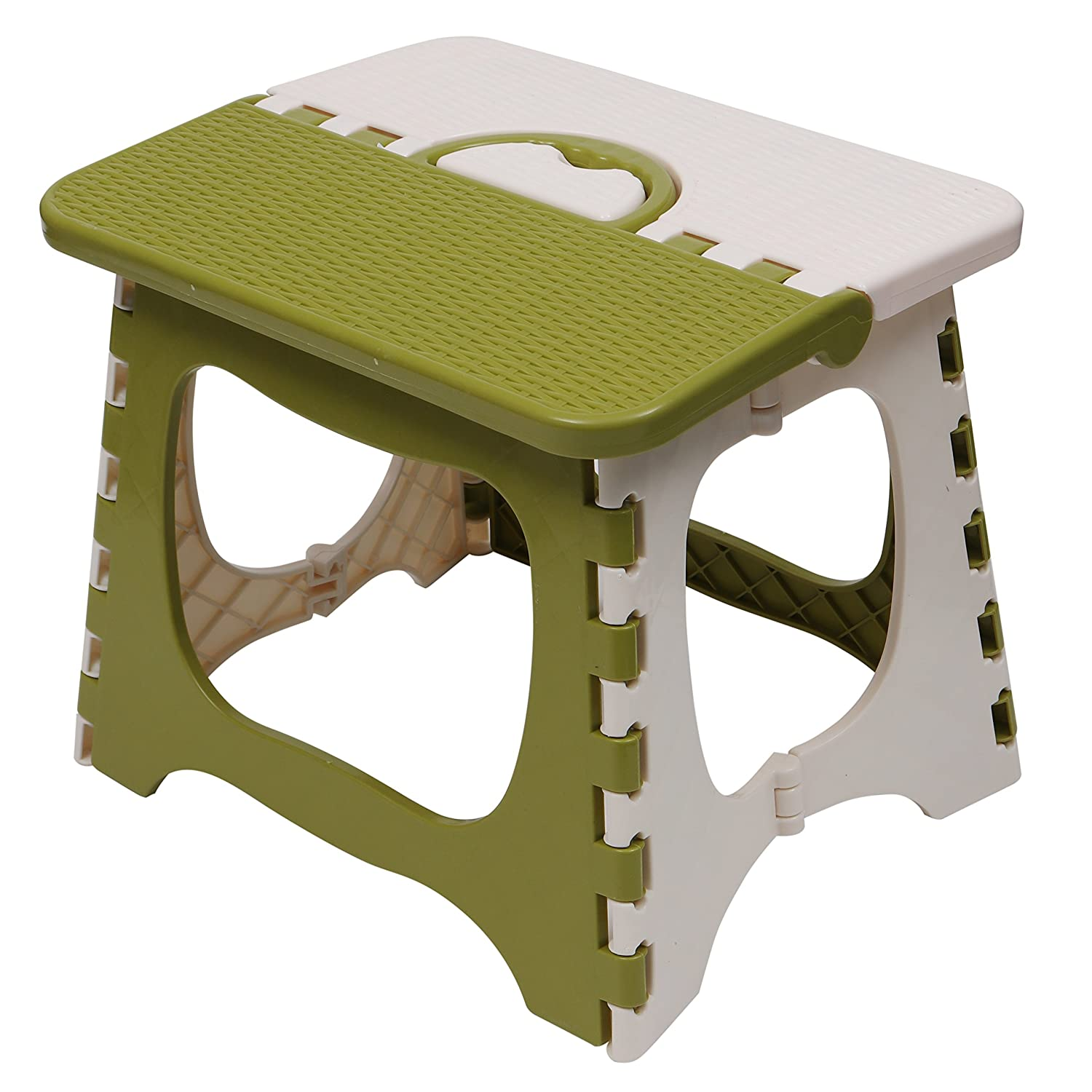 Kurtzy Foldable Step Stool For Kids And Adults Kitchen Garden
