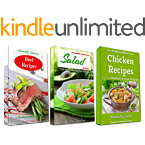 Incredibly Delicious Cookbook Bundle: Healthy Chicken, Beef and Salad Recipes from the Mediterranean Region: Frugal…