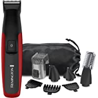 Remington Face, Head & Body Grooming Kit with Lithium Power, Cordless, Red, PG6155B