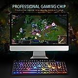 Gorjarant RGB Backlit Gaming Keyboard Wired