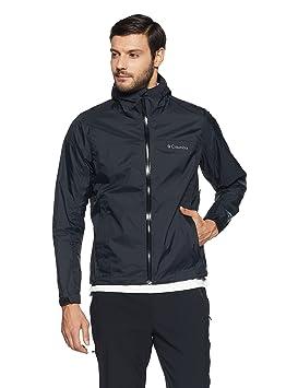 Columbia hombres chaqueta de evaporación, Negro, pequeño: Amazon.es: Deportes y aire libre