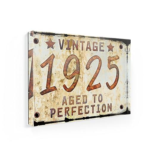 Imán para nevera Vintage año 1925, born/fabricado - Neonblond ...