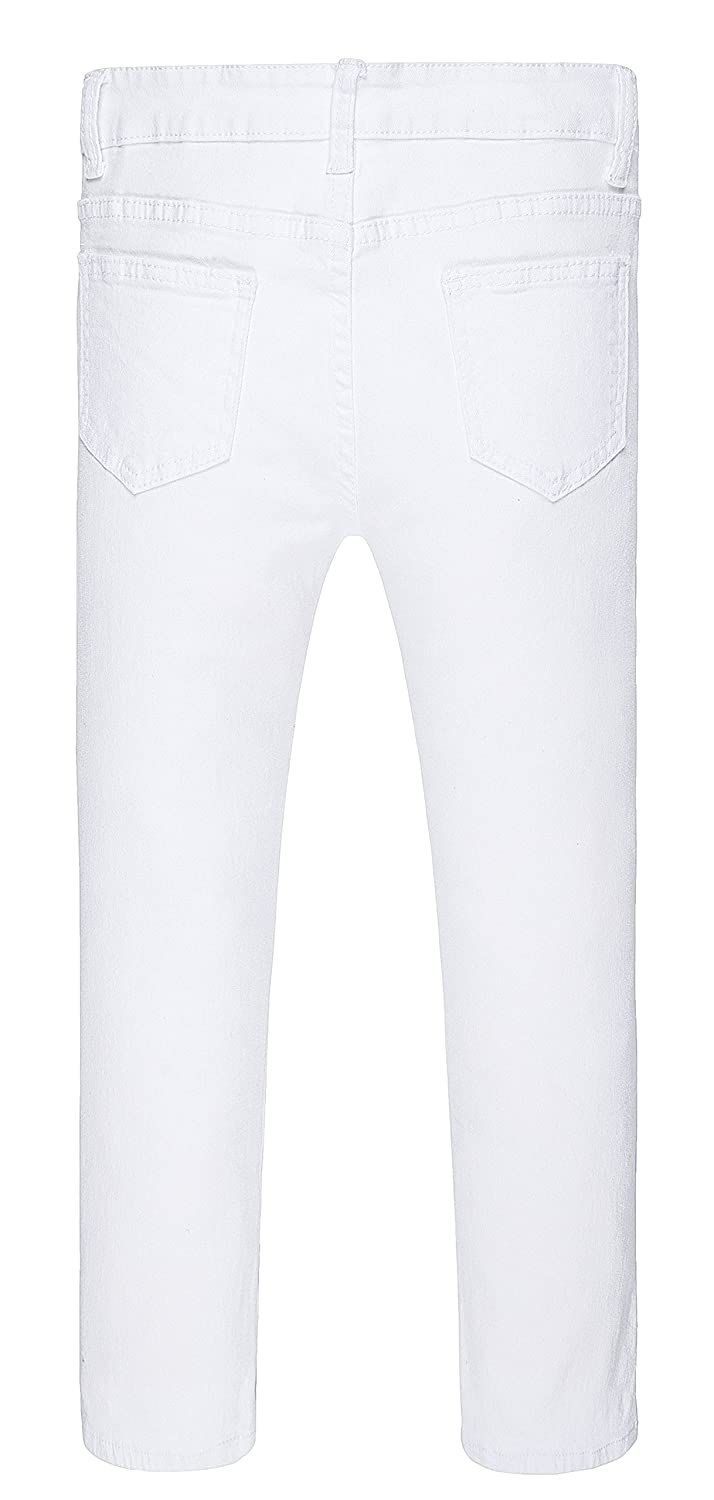 JeansNiu Boys Ripped Skinny Jeans Destroyed Stretch Slim Distressed Pants