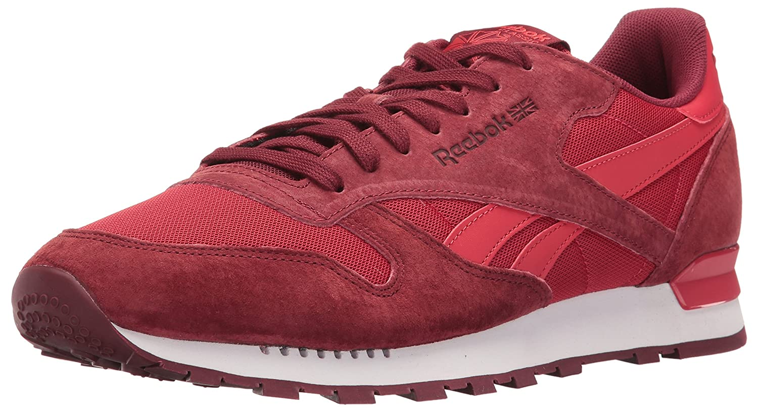 Reebok Men s CL Leather Clip Ele Fashion Sneaker Flash Red 9 DM US Buy  Online at Low Prices in India  Amazonin