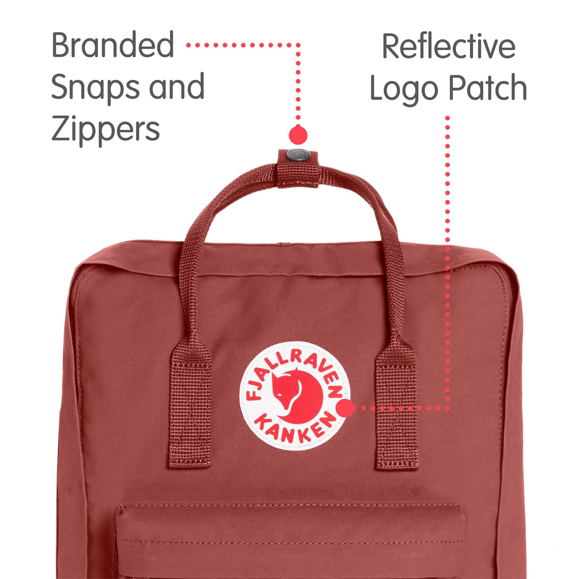 Fjallraven - Kanken Classic Backpack for Everyday, Dahlia by Fjallraven (Image #2)