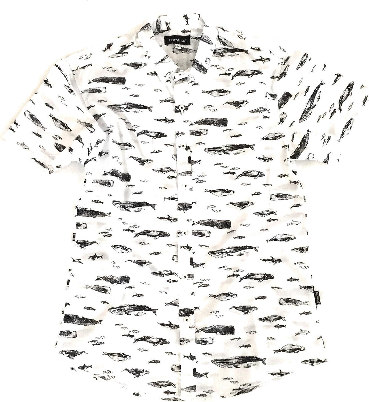 TRANKILO Camisa Ballenas. (XL): Amazon.es: Ropa y accesorios