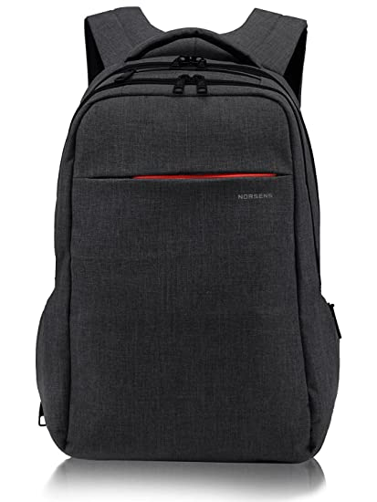d46eefacec32 NORSENS Lightweight Laptop Backpacks 15.6inch Slim Business Backpack for  Laptop/Notebook/Computer