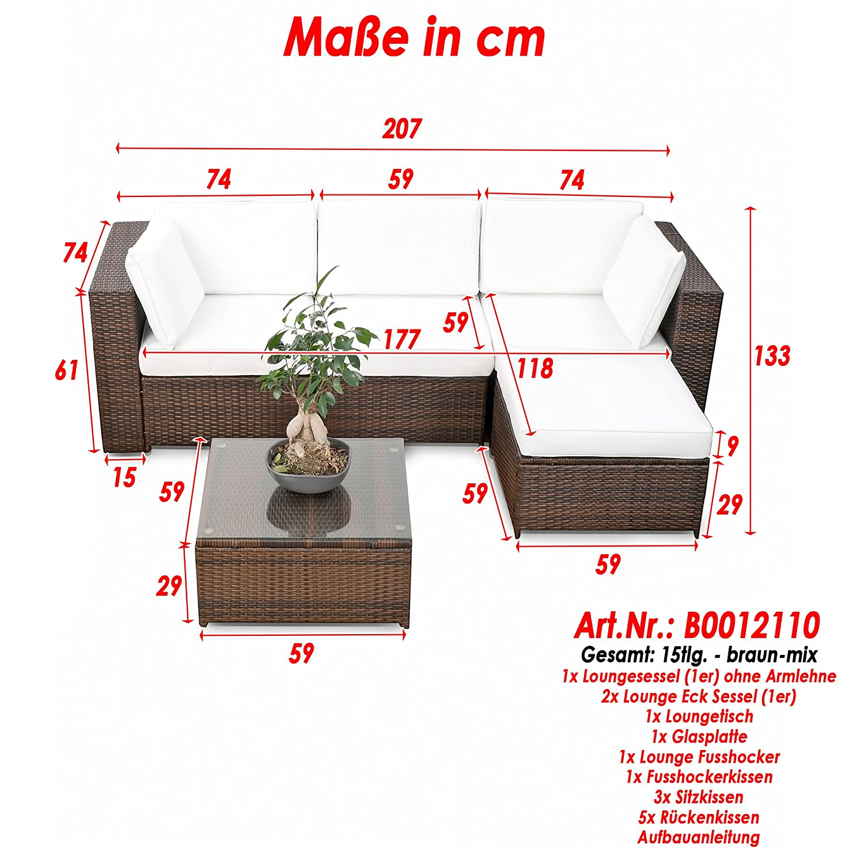 loungem bel set balkon. Black Bedroom Furniture Sets. Home Design Ideas