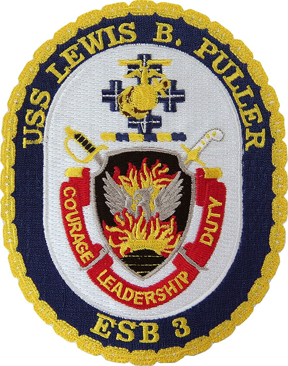 Puller ESB-3 Patch Full Color USS Lewis B