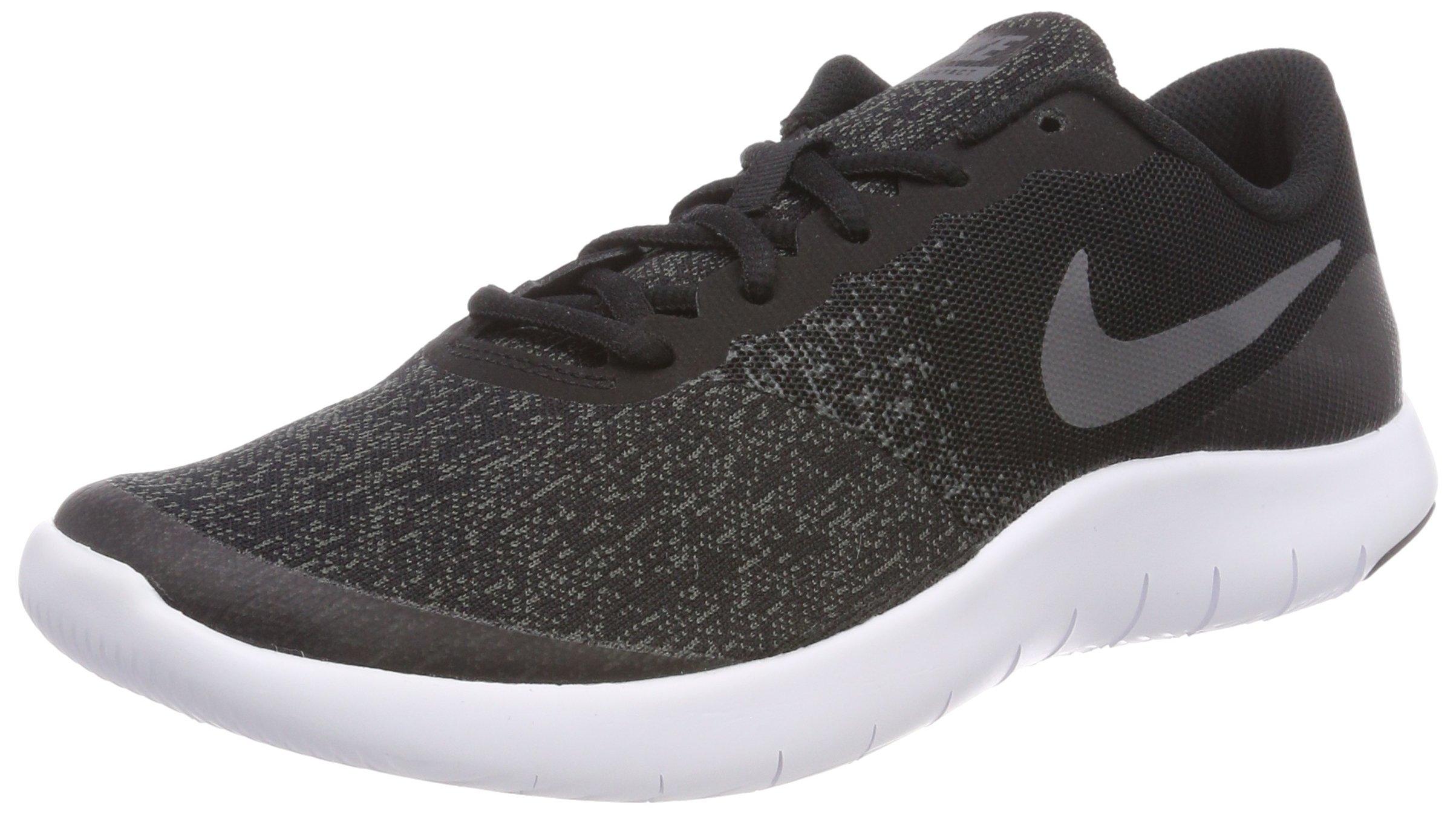 Nike Kids Flex Contact (GS) Black/Dark Grey/Anthracite Running Shoe, 7 Big Kid