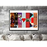 Amazon Price History for:Custom Kanye West Art Collage Poster,TLOP Pablo Song Lyric Quote Digital Print 12x18 Living Room Bed Room Art (FRAME NOT INCLUDED)