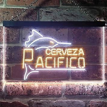 Amazon.com: zusme Cerveza Pacifico Marlin - Cartel de neón ...