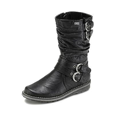d887661abf340 Rieker Children's Boots K0270 01/36, Black: Amazon.co.uk: Shoes & Bags
