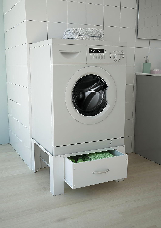 Respekta Waerhoehungung Support de machine /à laver en acier