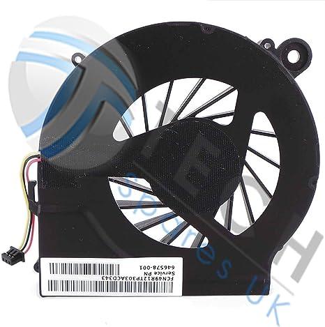 HP 646578-001 606609-001 - Ventilador para ordenador portátil ...