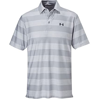 887582a6 Image Unavailable. Image not available for. Color: Under Armour Golf Men's  UA Playoff Polo Overcast Gray/Stealth ...