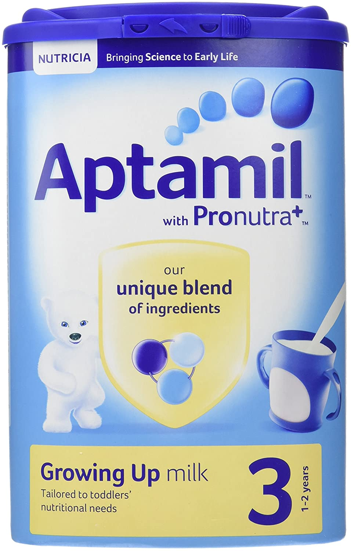 Aptamil Stage 3 Growing Up Milk Powder 900 g (Pack of 6) Groceries