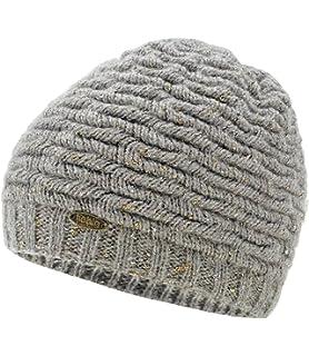 Fiebig Bonnet Tricoté Fille En Tricot D Hiver Chapeau Calotte Avec Lurex  Mohair Pour Enfants e10bfc29c69