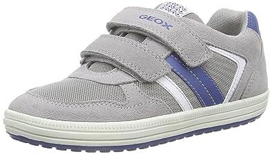 2cd21ddf8f8 Geox Vita A, Boys' Trainers, Grey (Grey/bluec0244), 8.5