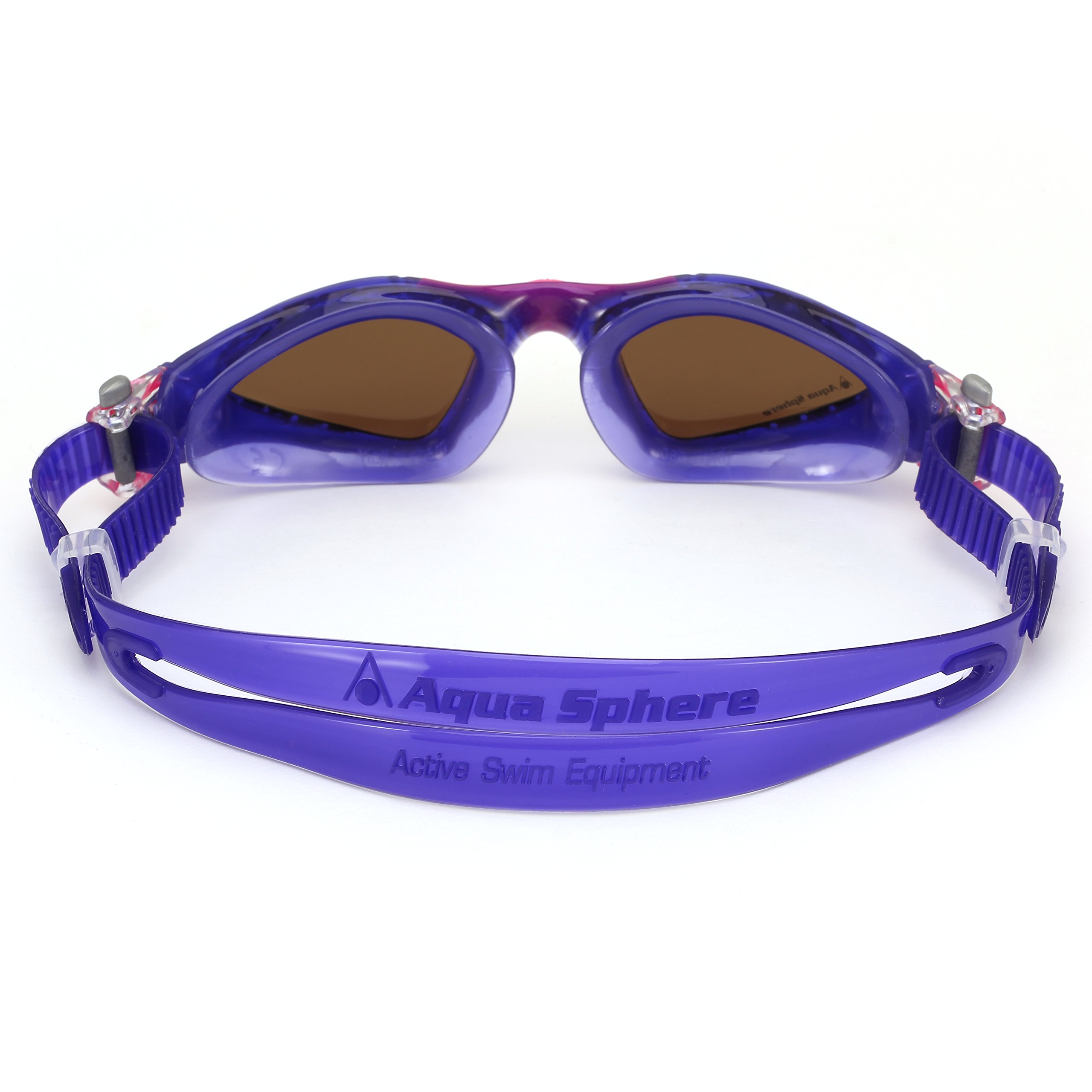 Aqua Sphere Kayenne Ladies Swimming Goggles Polarized Lens, Violet & Pink UV Protection Anto Fog Swim Goggles for Women by Aqua Sphere (Image #2)
