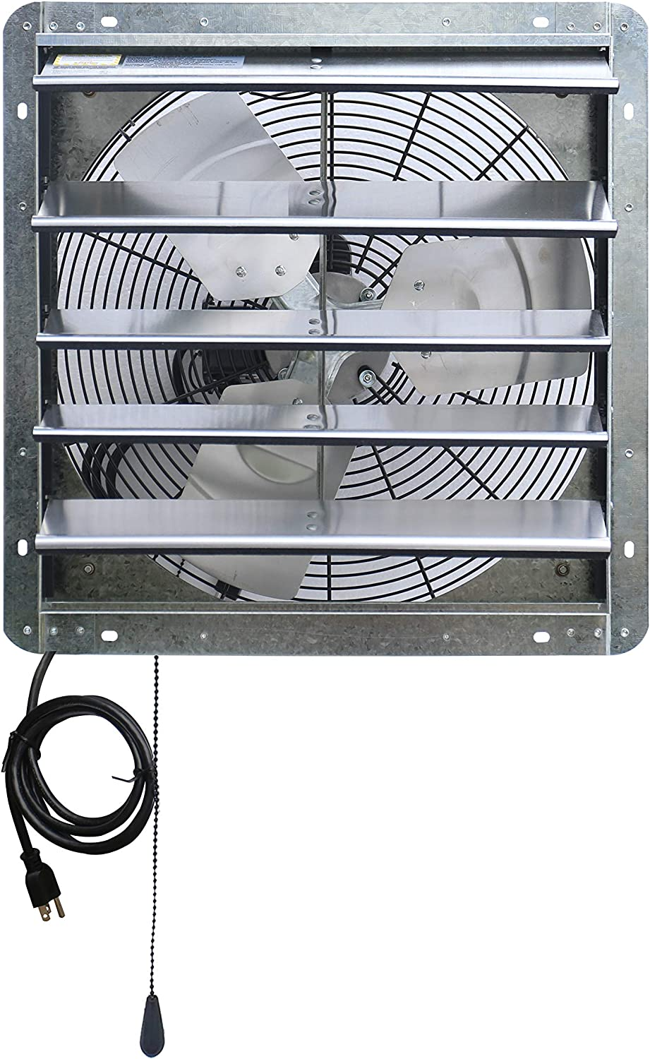"""Silver for sale online iLIVING ILG8SF10V 10/"""" Variable Speed Shutter Wall-Mounted Exhaust Fan"""