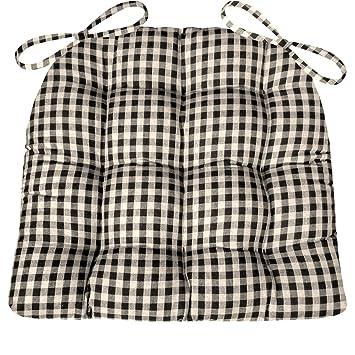 Amazon.com: Silla de comedor Pad con los lazos – Checkers 1 ...