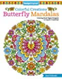 Colorful Creations Butterfly Mandalas: Coloring Book Pages Designed to Inspire Creativity! (Design Originals) 32 Gorgeous Designs & Tips from Jess Volinski, Artist of the Notebook Doodles Series