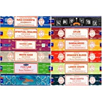 SATYA Incense Mix 12 Assorted Fragrances by Nag Champa
