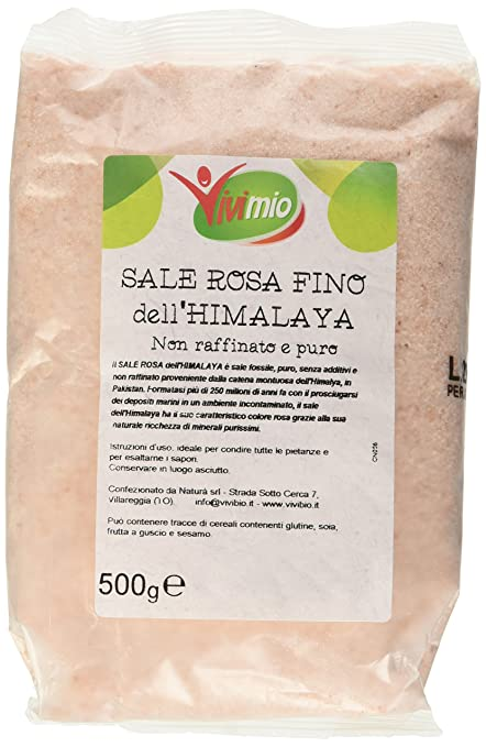 18 opinioni per Vivibio Sale Rosa Himalaya Fino- 3 pezzi da 500 g [1500 g]