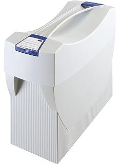 Transportbox für Hängemappen Ordner Rolloverschluß helit the mobil box
