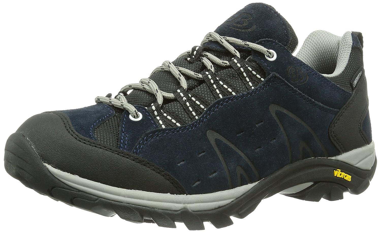 Bruetting Herren Mount Bona Low Trekking-& Wanderhalbschuhe Blau (Marine) 40 EU 211095