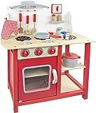 Leomark Kids Wooden Kitchen Wood Toy Children's Role Play Pretend Set Play Toy Chef