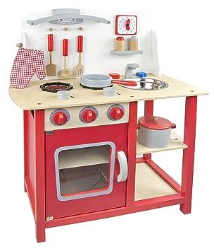 cocina de juguete con accesorios cocina de juguete de madera classic