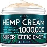 Hemp Pain Relief Cream 1,000,000 - Natural Hemp Extract Cream for Arthritis, Back Pain & Muscle Pain Relief - Efficient…