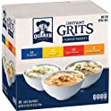 48-Pk Quaker Instant Grits Variety Pack