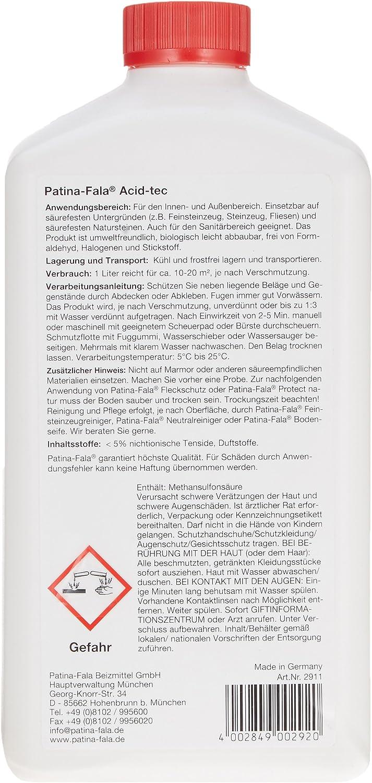 FR5 Patine de fala feinsteinzeugreiniger Nettoyant pour carrelage et