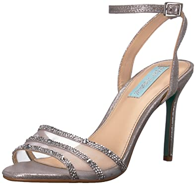 5523f260cdf6 Blue by Betsey Johnson Women s SB-Veda Heeled Sandal