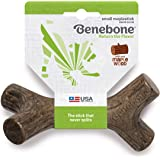 Benebone Maplestick/Bacon Stick Durable Dog Chew Toy for Aggressive Chewers, Made in USA
