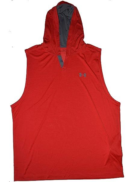 d25896f3e8d1f3 Amazon.com  Under Armour Men s Tech Sleeveless Hoodie  Sports   Outdoors