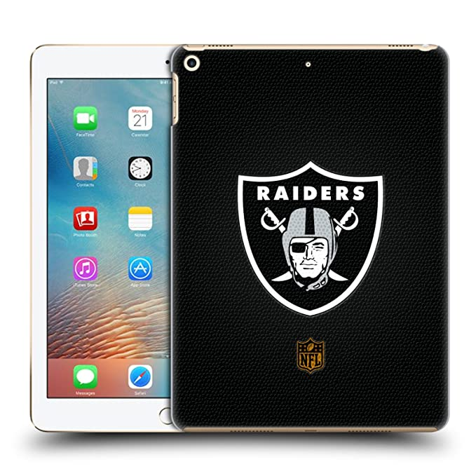 094c22fd7 Image Unavailable. Image not available for. Color  Official NFL Football  Oakland Raiders Logo Hard Back Case for iPad ...