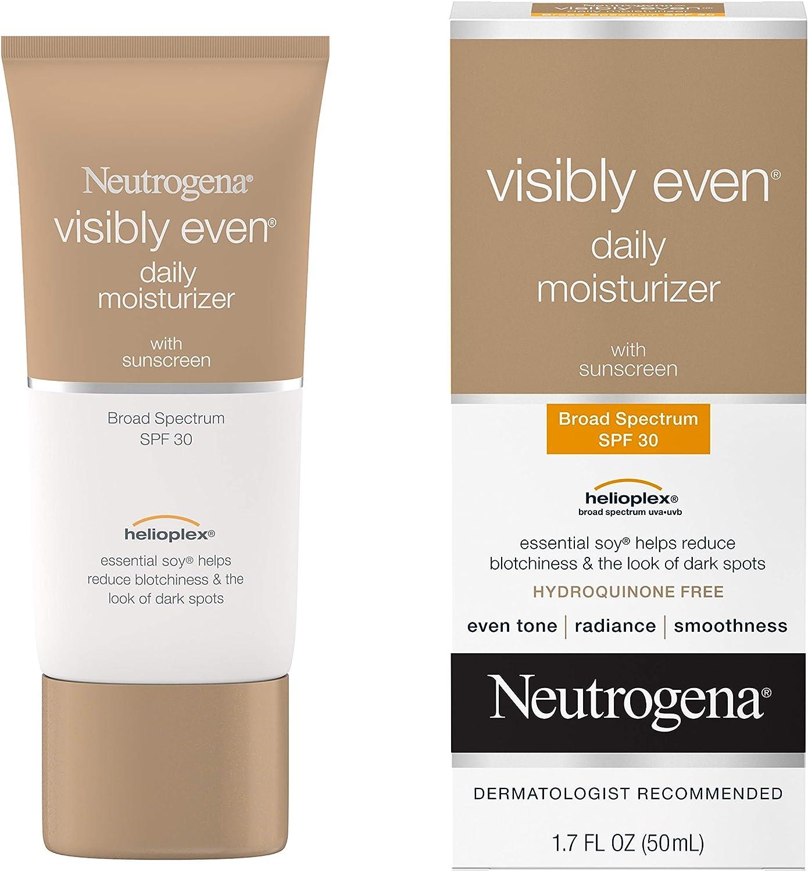 Neutrogena Visibly Even Daily Facial Moisturizer With SPF 30